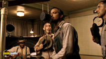 A still #15 from O Brother, Where Art Thou? with George Clooney and Tim Blake Nelson