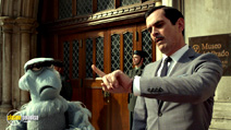 A still #15 from Muppets Most Wanted with Ty Burrell