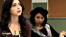 A still #14 from The Rewrite with Annie Q. and Emily Morden