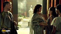A still #16 from Pompeii with Carrie-Anne Moss and Jared Harris