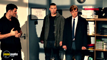 A still #6 from Plastic (2014) with Will Poulter and Ed Speleers