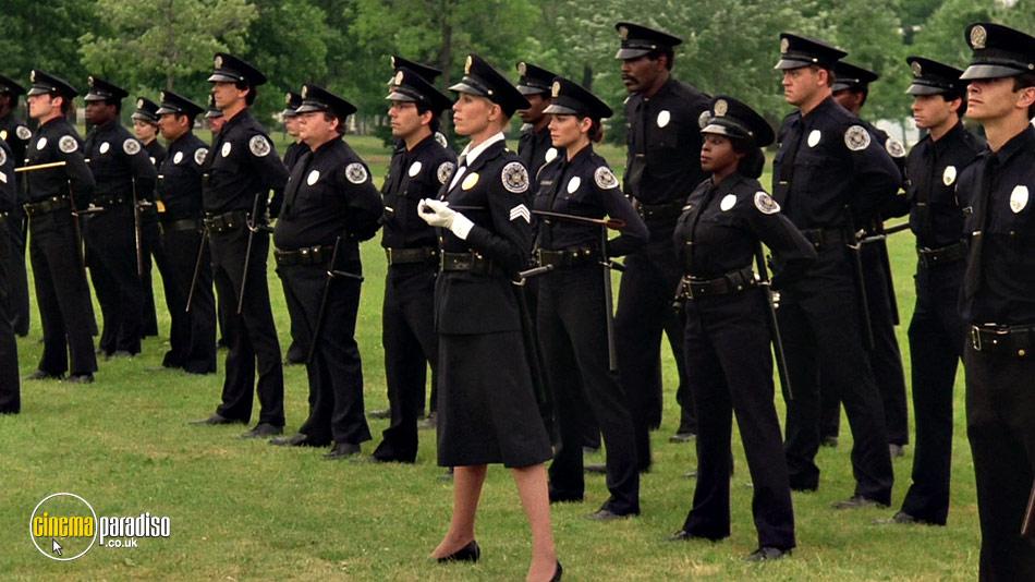 Police Academy online DVD rental