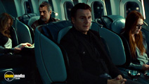 A still #19 from Non-Stop with Julianne Moore and Liam Neeson