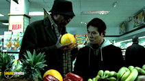 A still #14 from Unleashed with Morgan Freeman and Jet Li