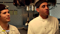 A still #6 from Chef (2014) with John Leguizamo and Bobby Cannavale