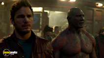 A still #15 from Guardians of the Galaxy with Chris Pratt and Dave Bautista