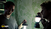 A still #4 from Silent House (2011) with Adam Trese and Eric Sheffer Stevens