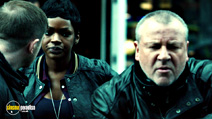 A still #16 from The Sweeney with Caroline Chikezie