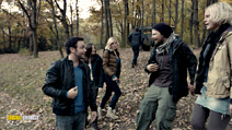 A still #5 from Chernobyl Diaries (2012) with Nathan Phillips, Jonathan Sadowski, Ingrid Bolsø Berdal, Devin Kelley and Olivia Taylor Dudley