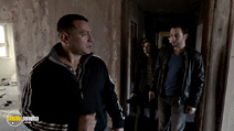 A still #9 from Chernobyl Diaries (2012) with Jonathan Sadowski and Dimitri Diatchenko