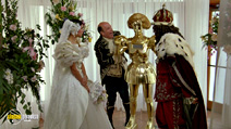 A still #3 from Spaceballs with Dick Van Patten and Daphne Zuniga