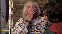 A still #16 from Back to the Future: Part 2 with Christopher Lloyd