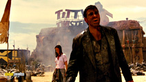 A still #2 from From Dusk Till Dawn (1996) with George Clooney and Juliette Lewis