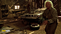 A still #16 from Back to the Future: Part 3 with Christopher Lloyd