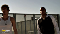 A still #15 from Skyline with Donald Faison and Eric Balfour
