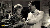 A still #14 from Lolita with James Mason and Shelley Winters