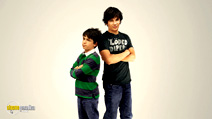 A still #33 from Diary of a Wimpy Kid 2: Rodrick Rules with Zachary Gordon and Devon Bostick