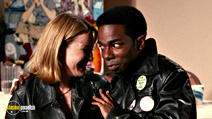 A still #23 from Chasing Amy with Joey Lauren Adams and Dwight Ewell