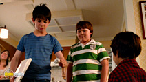A still #27 from Diary of a Wimpy Kid 2: Rodrick Rules with Zachary Gordon and Robert Capron