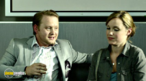 A still #19 from Panic Button with Michael Jibson and Scarlett Alice Johnson