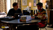 A still #18 from Silicon Valley: Series 1 with Kumail Nanjiani and Thomas Middleditch