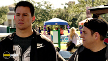 A still #21 from 22 Jump Street with Channing Tatum and Jonah Hill