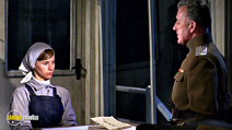 A still #35 from Doctor Zhivago with Alec Guinness and Rita Tushingham