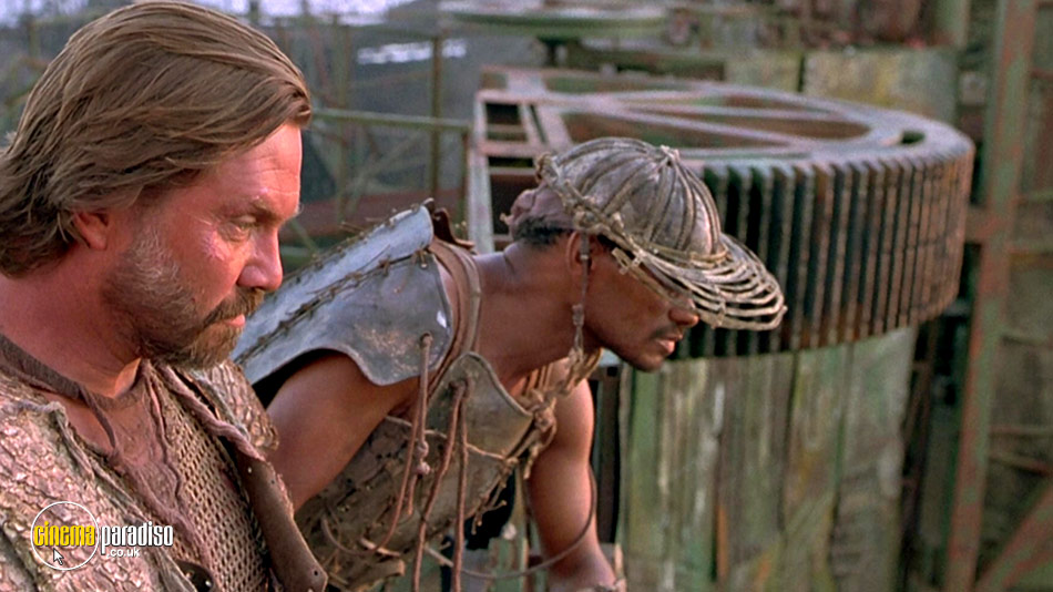 A Still 36 From Waterworld 1995 With Rd Call And Rick Aviles