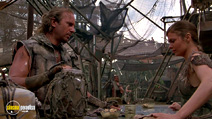 A still #35 from Waterworld with Kevin Costner and Jeanne Tripplehorn