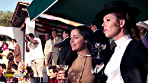 A still #41 from On Her Majesty's Secret Service with Diana Rigg, George Lazenby and Virginia North