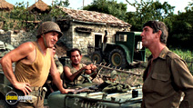 A still #36 from Kelly's Heroes with Stuart Margolin, Telly Savalas and Hal Buckley
