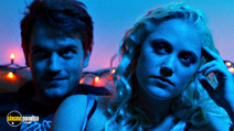 A still #26 from The Guest with Chase Williamson and Maika Monroe