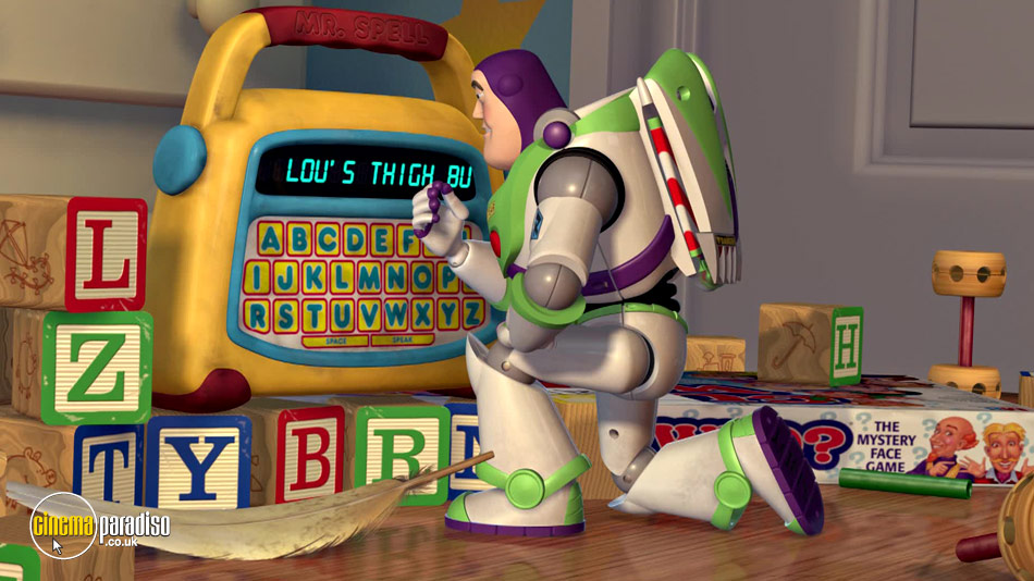 Toy Story 2 online DVD rental