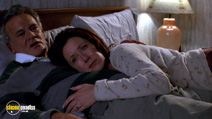 A still #22 from Donnie Darko with Mary McDonnell and Holmes Osborne