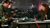 A still #29 from Godzilla with Matthew Broderick, Vicki Lewis and Kevin Dunn