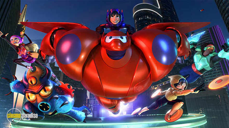 Big Hero 6 online DVD rental