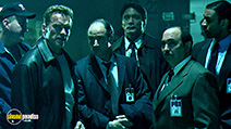 A still #25 from Collateral Damage with Miguel Sandoval, Arnold Schwarzenegger, Elias Koteas and Harry Lennix