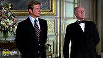 A still #45 from James Bond: Moonraker with Roger Moore