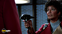 A still #16 from Star Trek 3: The Search for Spock with Nichelle Nichols