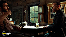 A still #26 from Inglourious Basterds with Christoph Waltz and Denis Ménochet