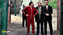 A still #33 from The Damned United with Timothy Spall and Michael Sheen
