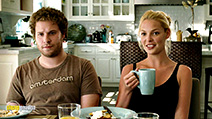 A still #13 from Knocked Up with Katherine Heigl and Seth Rogen