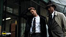 A still #34 from Seven with Morgan Freeman and Brad Pitt