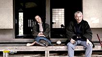 A still #34 from Zatoichi with Takeshi Kitano