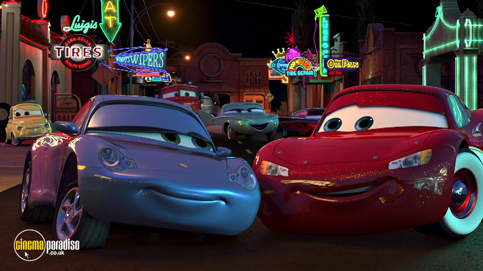 Cars online DVD rental