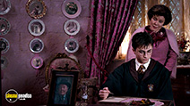 A still #27 from Harry Potter and the Order of the Phoenix with Daniel Radcliffe and Imelda Staunton