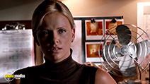 A still #20 from The Italian Job with Charlize Theron