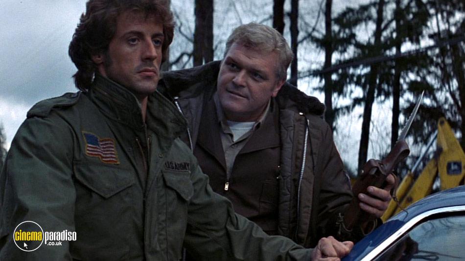 Rambo: First Blood online DVD rental