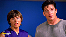 A still #35 from High School Musical with Zac Efron and Bart Johnson