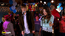 A still #33 from High School Musical with Zac Efron and Vanessa Hudgens